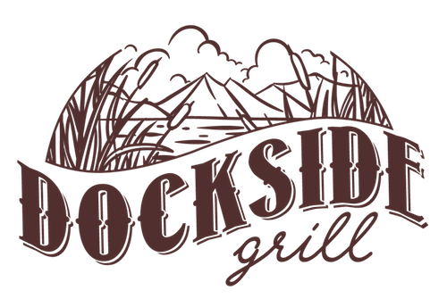 The Dockside Grill is your go-to for delicious food and great views.