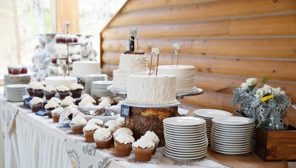 A wedding tablescape