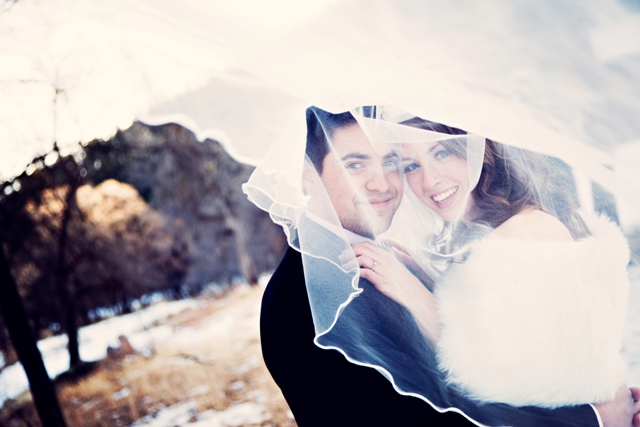 Winter Wedding at Reunion Cabin