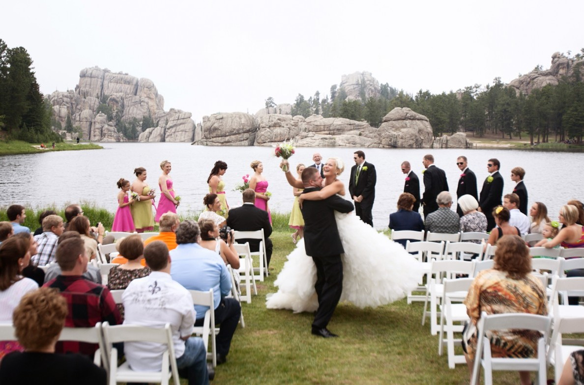 Ceremony At The Lakeside Lawn