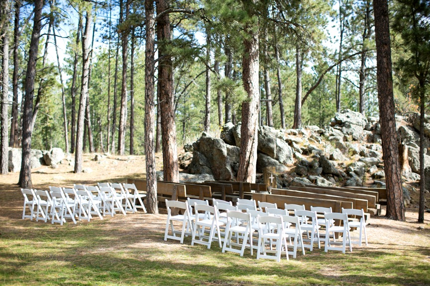 Outdoor Seating At The Chapel.