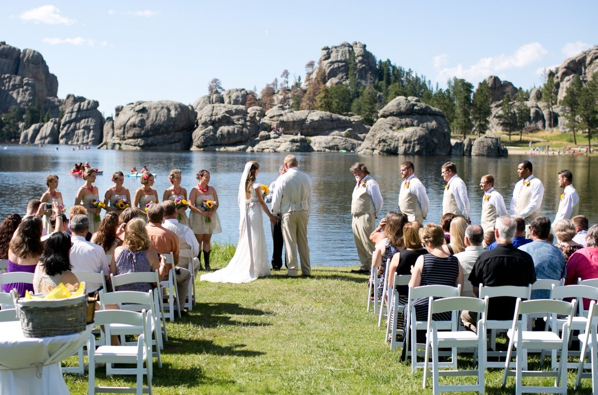 weddings at sylvan lake lodge