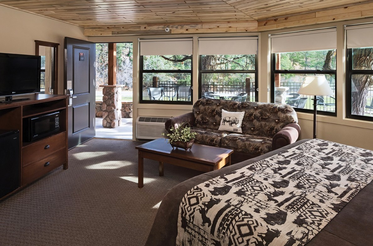 hotel rooms accommodations state game lodge lodges cabins